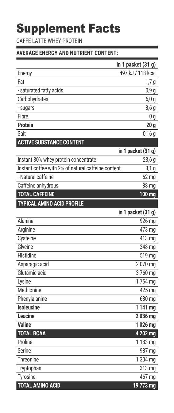 CAFFÉ LATTE PROTEIN