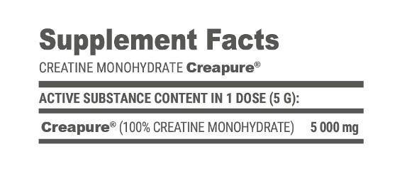 Creatine Creapure