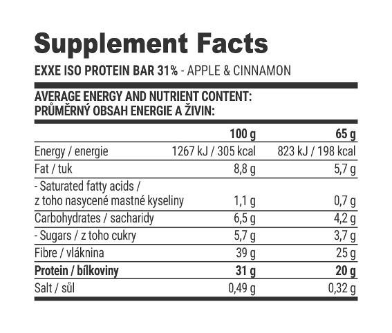 Exxe® Protein Bar
